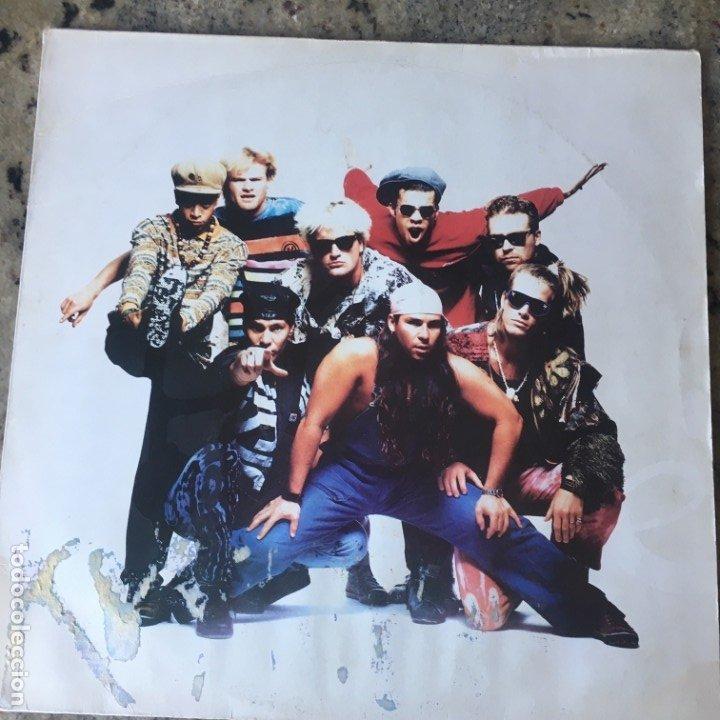 STONEFUNKERS - HARDER THAN KRYPTONITE . LP . 1990 GERMANY (Música - Discos - LP Vinilo - Pop - Rock Extranjero de los 90 a la actualidad)