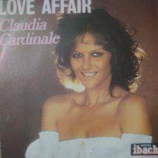Discos de vinilo: CLAUDIA CARDINALE SINGLE SELLO IBACH EDITADO EN FRANCIA AÑO 1977. Lote 182470742