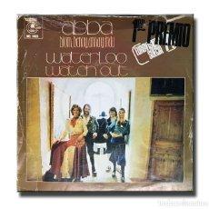 Discos de vinilo: ABBA - WATERLOO / WATCH OUT . Lote 182471211
