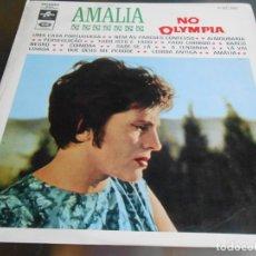 Discos de vinilo: AMALIA RODRIGUES - NO OLYMPIA -, LP, UMA CASA PORTUGUESA + 13, AÑO 1.9?? FABRICADO EM PORTUGAL. Lote 182477343