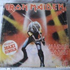 Discos de vinilo: IRON MAIDEN MAIDEN JAPAN. Lote 182477743