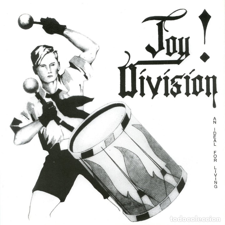 EP JOY DIVISION AN IDEAL FOR LIVING REEDICION POSTER SLEEVE (Música - Discos de Vinilo - EPs - Pop - Rock - New Wave Internacional de los 80)