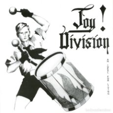 Discos de vinilo: EP JOY DIVISION AN IDEAL FOR LIVING REEDICION POSTER SLEEVE. Lote 260684625