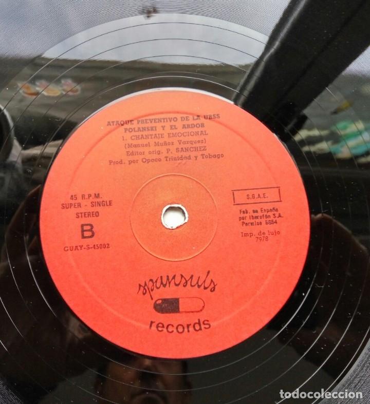 Discos de vinilo: Polansky y el ardor - ataque preventivo de la URSS, maxi Ed. Lim. Sello spansuls 1982/ punk - Foto 4 - 182480752