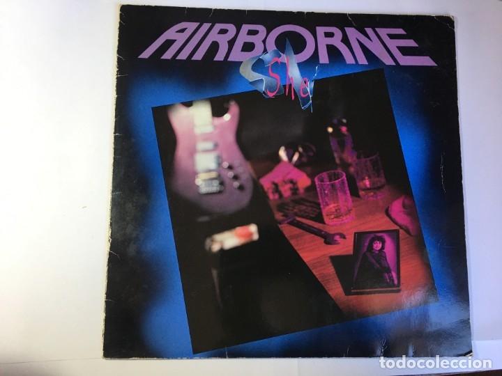 DISCO LP VINILO AIRBORNE SHE (Música - Discos de Vinilo - Maxi Singles - Pop - Rock Extranjero de los 70)