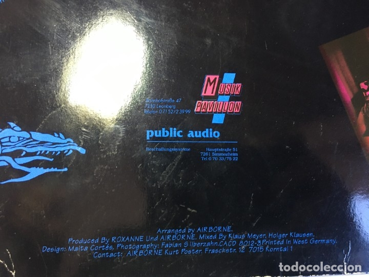 Discos de vinilo: DISCO LP VINILO AIRBORNE SHE - Foto 3 - 182481171