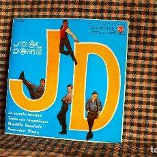 Discos de vinilo: JOËL DENIS ?– LA ESCUELA TERMINO / TODOS MIS COMPANEROS / MANTILLA ESPAÑOLA / REMEMBER DIANA, RCA.. Lote 222297427
