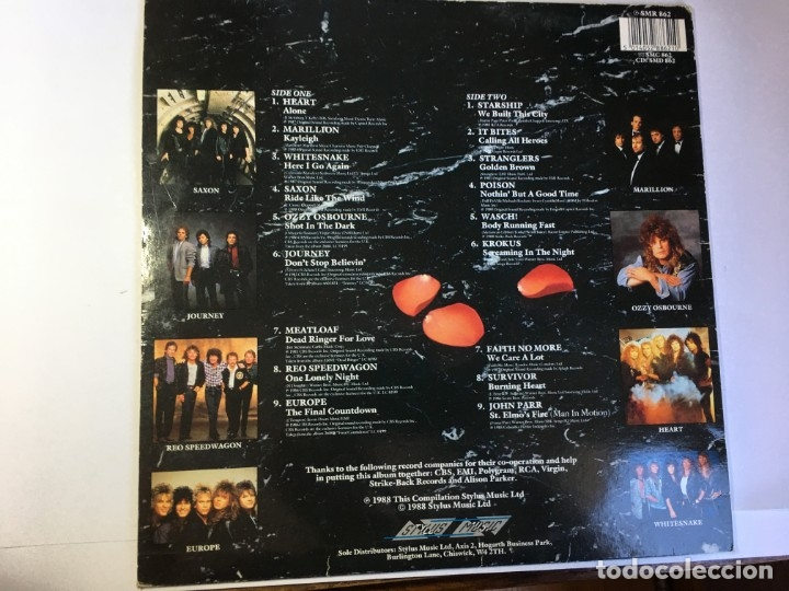 Discos de vinilo: DISCO LP VINILO SOFT METAL 1988 - MARILLION - MEAT LOAF - WHITESNAKE - EUROPE ... - Foto 2 - 182481501