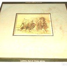 Discos de vinilo: V244 - THE STILLS-YOUNG BAND. LONG MAY YOU RUN. LP VINILO. Lote 182483743