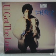 Discos de vinilo: MAXI SINGLE - PRINCE / U GOT THE LOOK . Lote 182485081