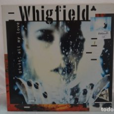 Discos de vinilo: MAXI SINGLE - WHIGFIELD / GIVEN´ALL MY LOVE. Lote 182486048