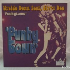 Discos de vinilo: MAXI SINGLE - UPSIDE DOWN FEAT / JIVVY DEE / FUNKYTOWN. Lote 182489087