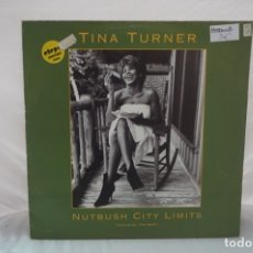 Discos de vinilo: MAXI SINGLE - TINA TURNER / NUTBUSH CITY LIMITS / CAPITOL 12CL 630. Lote 182490021