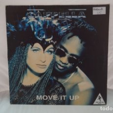 Discos de vinilo: MAXI SINGLE - CAPPELLA / MOVE IT UP / BLANCO Y NEGRO MX-539. Lote 182490075