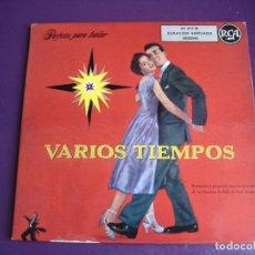 Discos de vinilo: VARIOS TIEMPOS DOBLE EP RCA - FOX TROT - POLKA - ARTIE SHAW - TOMMY DORSEY - TEX BENEKE - WAYNE KING. Lote 182490683