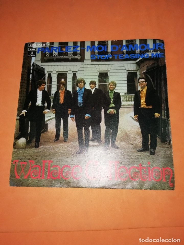 WALLACE COLLECTION. PARLEZ MOI D,AMOUR. STOP TEASING ME. EMI ODEON 1971 (Música - Discos - Singles Vinilo - Pop - Rock - Extranjero de los 70)