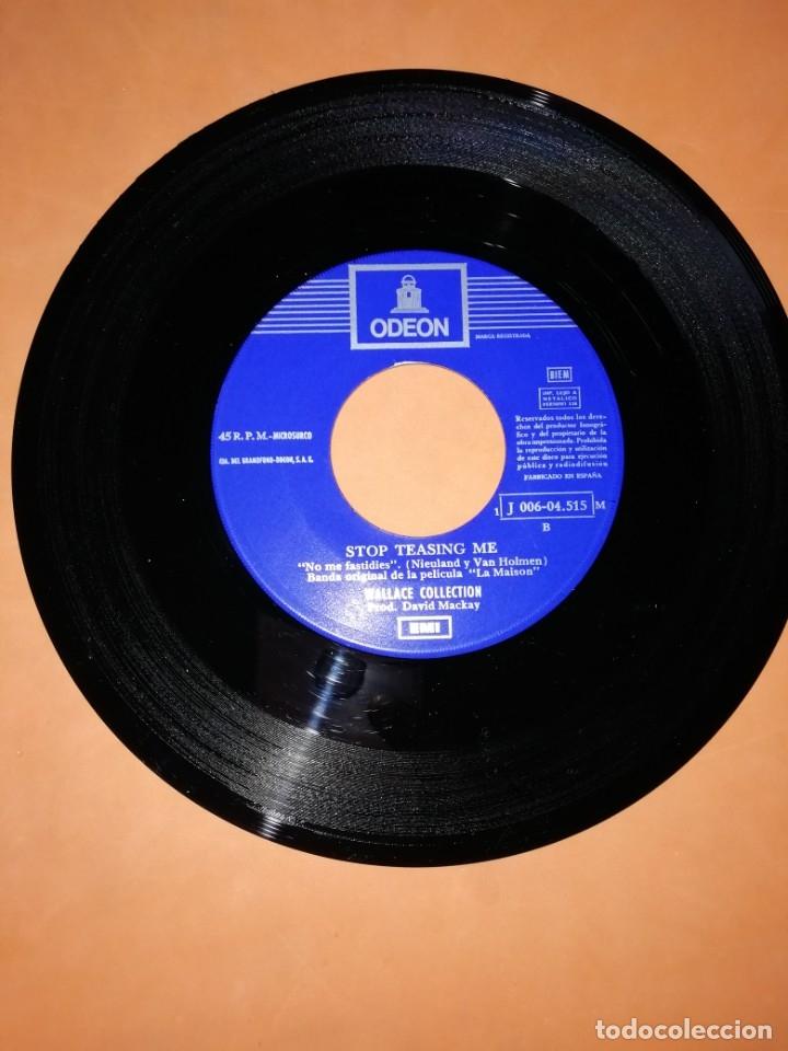 Discos de vinilo: WALLACE COLLECTION. PARLEZ MOI D,AMOUR. STOP TEASING ME. EMI ODEON 1971 - Foto 3 - 182503822