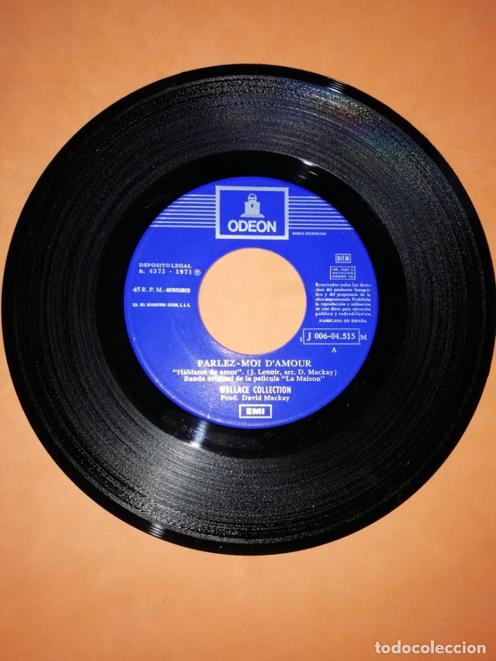 Discos de vinilo: WALLACE COLLECTION. PARLEZ MOI D,AMOUR. STOP TEASING ME. EMI ODEON 1971 - Foto 4 - 182503822