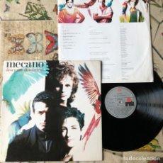 Discos de vinilo: DISCO VINILO MECANO DESCANSO DOMINICAL .1988. Lote 182507696