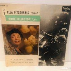 Discos de vinilo: ELLA FITZGERALD & DUKE ELLINGTON VINILO JAZZ. Lote 182508757
