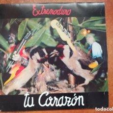 Discos de vinilo: EXTREMODURO - TU CORAZON (SG) 1991. Lote 182509996