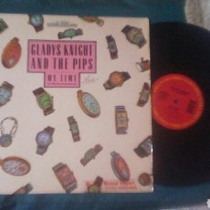 Discos de vinilo: GLADYS KNIGHT AND THE PIPS MAXI MY TIME 1985 SOUL VG. Lote 182513853