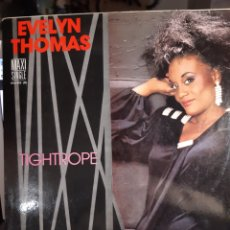 Discos de vinilo: EVELYN THOMAS-TIGHTROPE. Lote 182520265