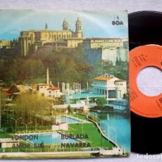 Discos de vinilo: L.GALLEGO - LONDON / AMOR BIG + H.GRAYS - BURLADA / NAVARRA - EP PROMOCIONAL1974 - BOA / AUDIO&VIDEO. Lote 182520466