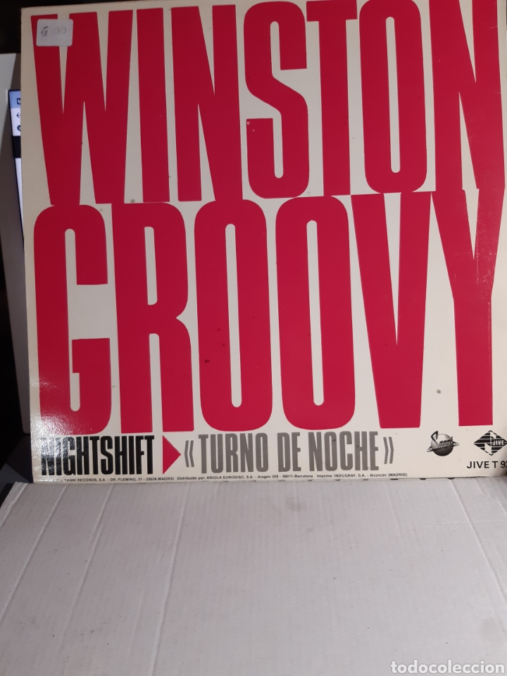Discos de vinilo: Winston Groovy -Night Shift - Foto 2 - 182520957