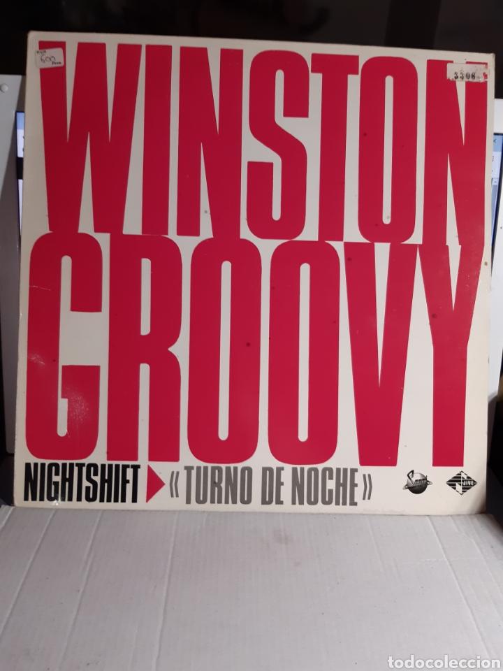 WINSTON GROOVY -NIGHT SHIFT (Música - Discos de Vinilo - Maxi Singles - Reggae - Ska)