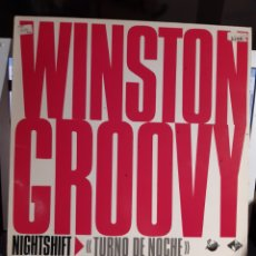 Discos de vinilo: WINSTON GROOVY -NIGHT SHIFT. Lote 182520957