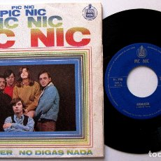 Discos de vinilo: PIC-NIC (JEANETTE) - AMANECER / NO DIGAS NADA - SINGLE HISPAVOX 1968 BPY. Lote 182522516
