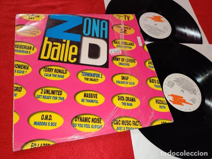 ZONA DE BAILE VOL.2 2LP 1992 GRABACIONES ACCIDENTALES ESPAÑA SPAIN RECOPILATORIO DINAMIC NOISE+ETC (Música - Discos - LP Vinilo - Disco y Dance)