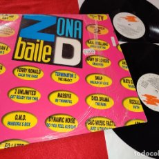 Discos de vinilo: ZONA DE BAILE VOL.2 2LP 1992 GRABACIONES ACCIDENTALES ESPAÑA SPAIN RECOPILATORIO DINAMIC NOISE+ETC. Lote 182524602