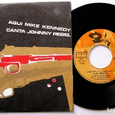 Discos de vinilo: MIKE KENNEDY - JOHNNY REBEL / SHE'S WALKING AWAY - SINGLE BARCLAY 1969 BPY. Lote 182525185