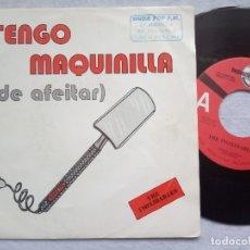 Discos de vinilo: THE INOXIDABLES - TENGO MAQUINILLA DE AFEITAR - SINGLE PROMOCIONAL 1992 - DIGIMUSIC. Lote 182526798