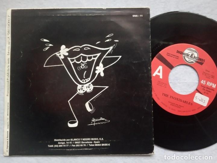 Discos de vinilo: THE INOXIDABLES - tengo maquinilla de afeitar - SINGLE PROMOCIONAL 1992 - DIGIMUSIC - Foto 2 - 182526798