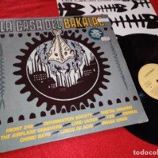 Discos de vinilo: LA CASA DEL BAKALAO LP 1991 ESPAÑA SPAIN RECOPILATORIO FRONT242+ESPIRAL+CHIMO BAYO+LORDS OF ACID+ETC. Lote 182527385