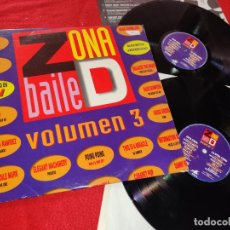 Discos de vinilo: ZONA DE BAILE VOL.3 2LP 1992 ESPAÑA SPAIN RECOPILATORIO FANGORIA+P.PARKER+POWER BAND+DATA DRAMA+ETC. Lote 182528461
