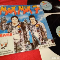 Discos de vinilo: MAX MIX 7 2LP 1988 MAX MUSIC ESPAÑA SPAIN RECOPILATORIO STEVE CLARK+CLUB HOUSE+YELLO+ETC. Lote 182529010