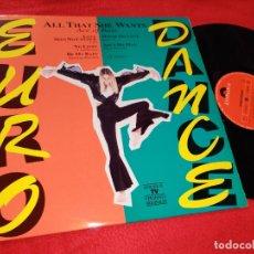 Discos de vinilo: EURO DANCE LP 1993 POLYDOR ESPAÑA SPAIN RECOPILATORIO U96+VANESSA PARADIS+DINA CARROLL+ETC. Lote 182529585