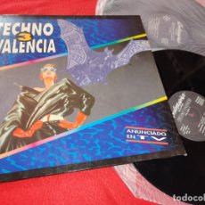 Discos de vinilo: TECHNO VALENCIA VOL.3 2LP 1993 GATEFOLD ESPAÑA SPAIN RECOPILATORIO SEVENEBB+METRO+SPOOK+ETC. Lote 182529831
