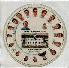 Discos de vinilo: ORQUESTA MARAVELLA – ¡HALA MADRID! - PICTURE DISC SPAIN 1972 - SAYTON AB-1005 - REAL MADRID. Lote 182534357