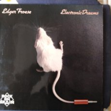 Discos de vinilo: EDGAR FROESE.TANGERINE DREAM.ELECTRONIC DREAM.LP.DIFICIL. Lote 182538202