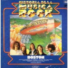 Dischi in vinile: BOSTON - HISTORIA DE LA MUSICA ROCK 62 - LP 1982. Lote 182538722