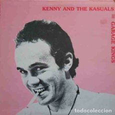 Discos de vinilo: KENNY AND THE KASUALS GARAGE KINGS LP . SONICS MUSIC MACHINE SEEDS COUNT FIVE. Lote 182539437