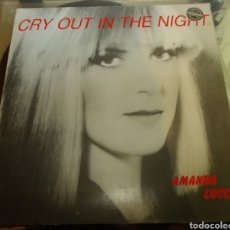 Disques de vinyle: AMANDA LUCCI - CRY OUT IN THE NIGHT. Lote 182542972