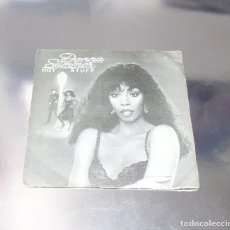 Discos de vinilo: DONNA SUMMER --- HOT STUFF / JOURNEY TO THE CENTRE OF YOUR HEART . Lote 181966922