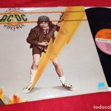 Discos de vinilo: AC/DC HIGH VOLTAGE LP 1976 ATLANTIC SPAIN ESPAÑA. Lote 182545010