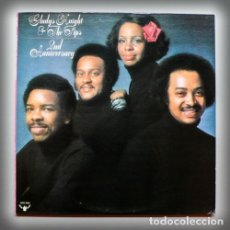 Discos de vinilo: GLADYS KNIGHT & THE PIPS / 2ND ANNIVERSARY 1975 / GREAT LEGEND SOUL, ORG EDIC USA, EXC !!!!. Lote 182546143